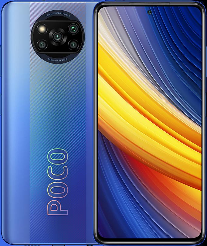 POCO X3 Pro 6GB+128GB, Frost Blue