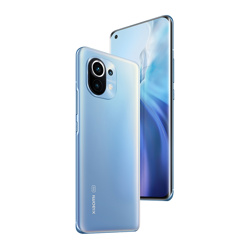 Mi 11 5G 8GB+256GB telefon inteligent, Horizon Blue