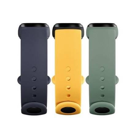 Mi Smart Band 5/6 Strap (3-Pack) albastru, verde, galben