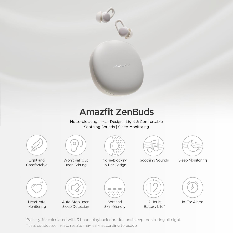 Amazfit ZenBuds, White