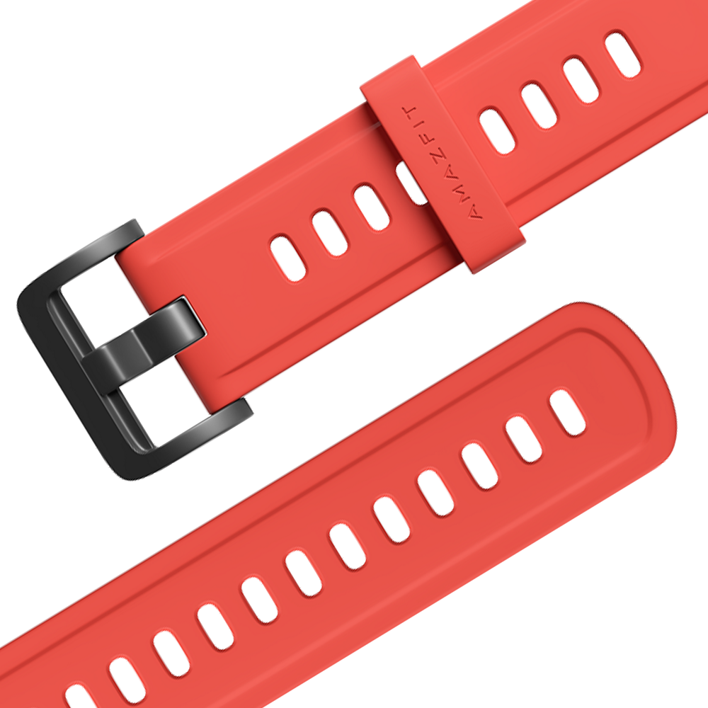 Amazfit szíj 22mm - Colorful Series, Coral Red