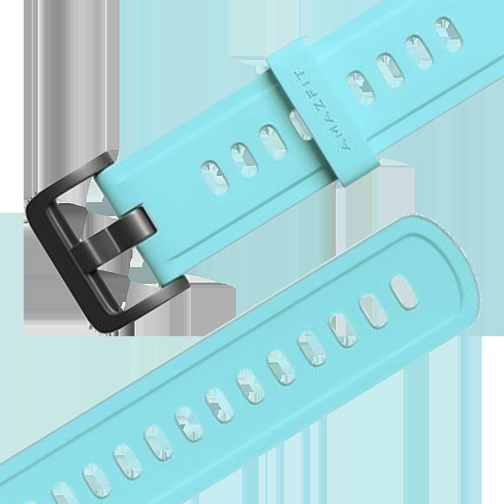 Amazfit szíj 22mm - Colorful Series, Mint Blue