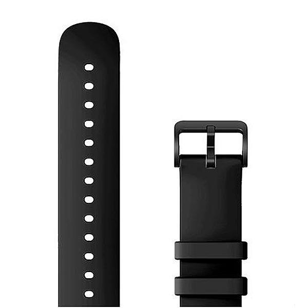 Amazfit szíj 20mm - Fluoroelastomer Series Slim Edition, Black