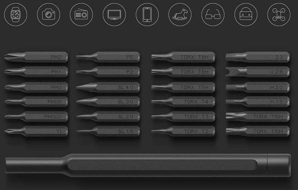Mi Precision Screwdriver Kit - precíziós csavarhúzó készlet
