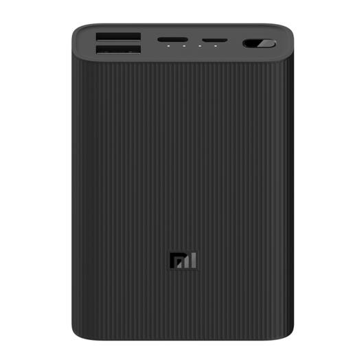 10000 mAh Mi Power Bank 3 Ultra Compact, külső akkumulátor