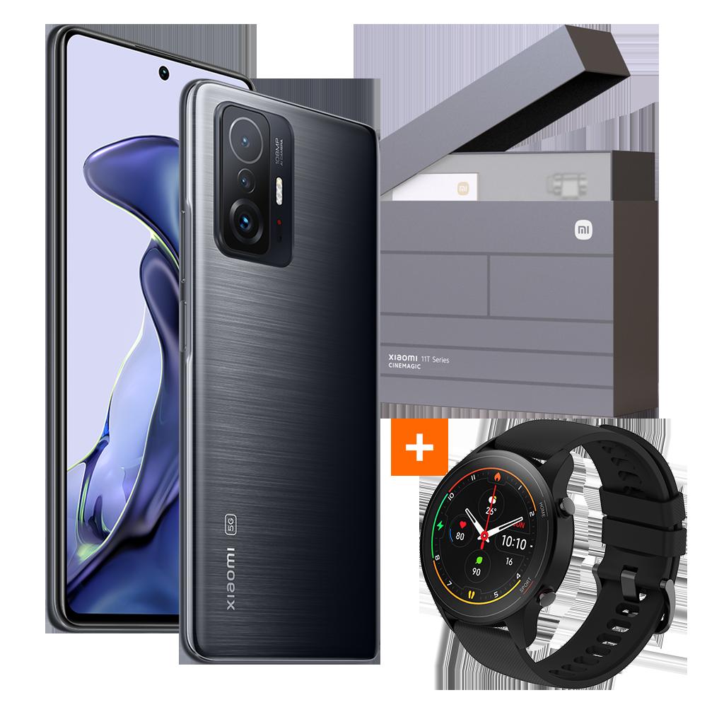 Xiaomi 11T 8GB+128GB Gift Box + Mi Watch, Meteorite Gray