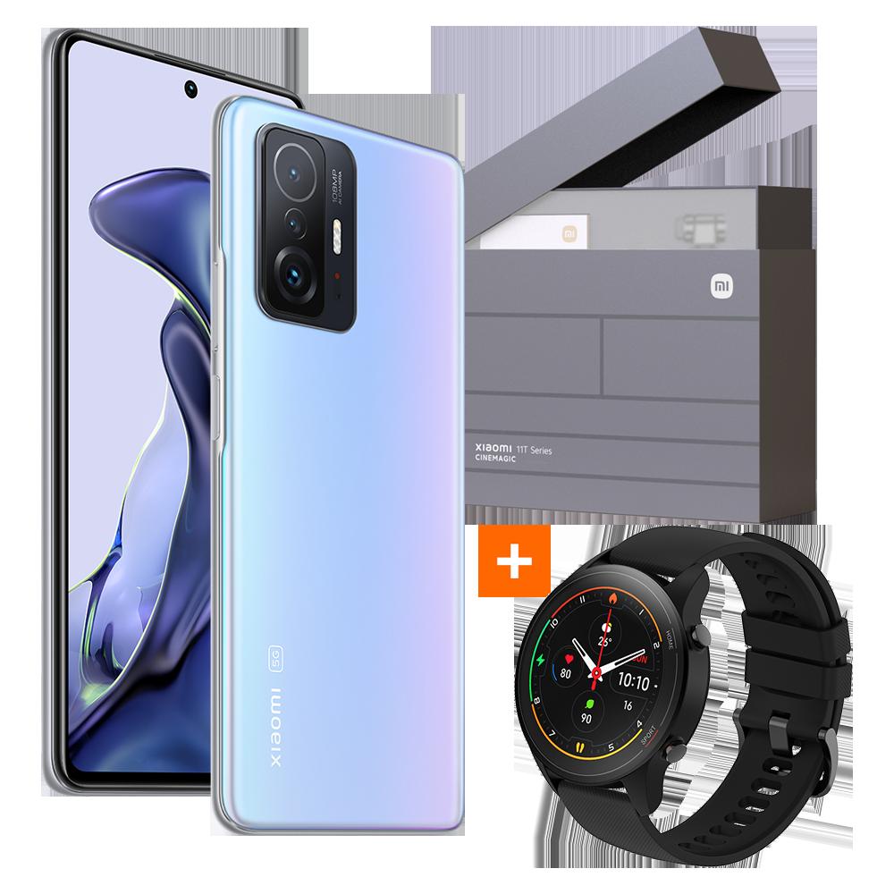 Xiaomi 11T 8GB+128GB Gift Box + Mi Watch, Celestial Blue