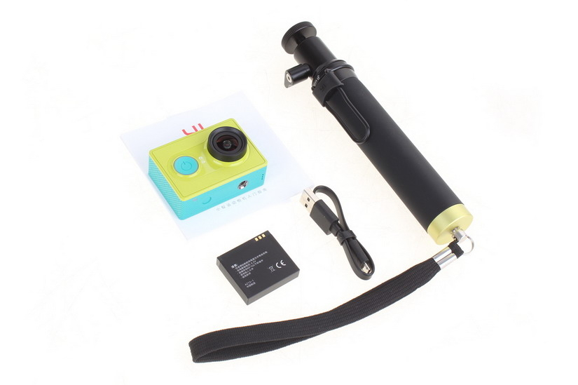 Yi Action Travel akciókamera - zöld