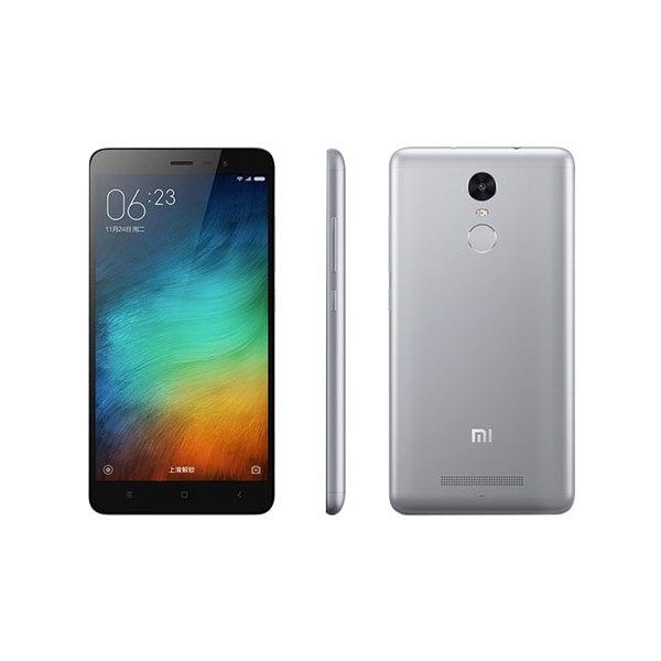 Redmi Note 3 okostelefon - fekete-ezüst