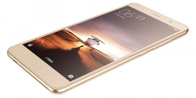 Redmi 3 okostelefon - arany