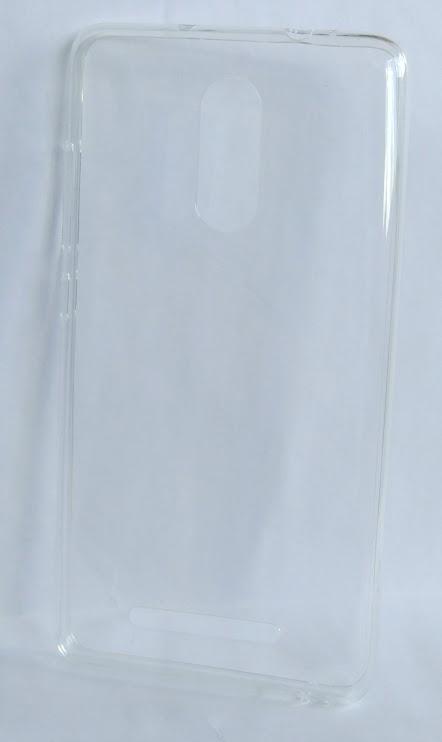 Redmi Note 3 szilikon tok - átlátszó