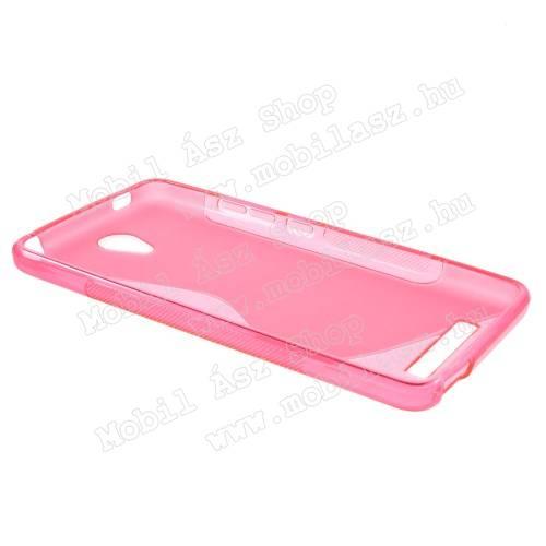 Redmi Note 2 Pro szilikon tok - rózsaszín