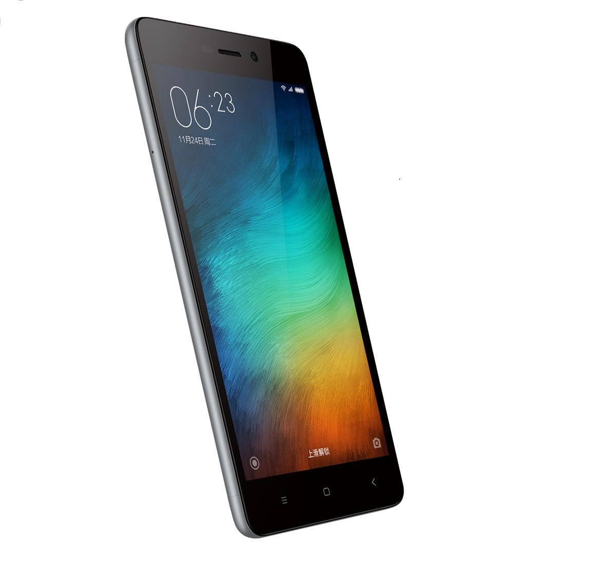 Redmi 3 okostelefon - szürke