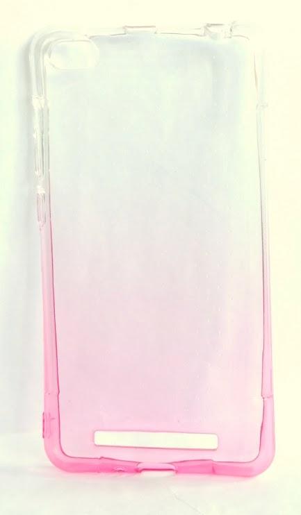 Redmi 3 szilikon tok - rózsaszín