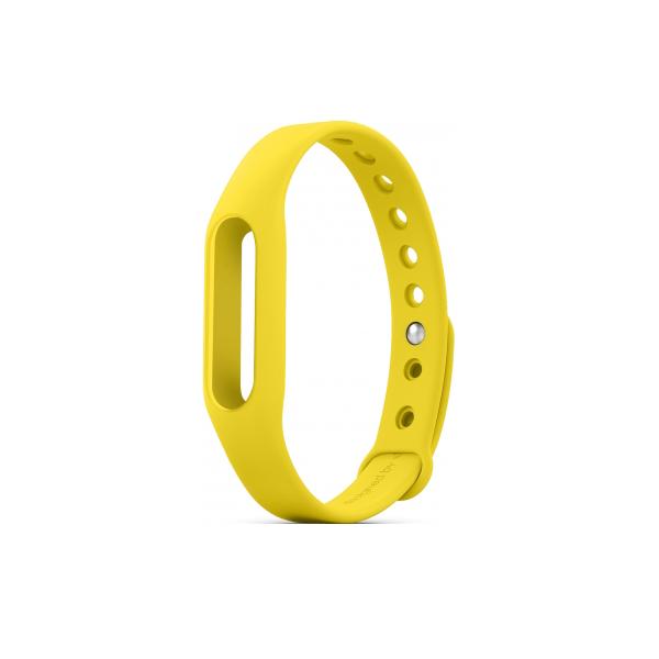 Mi Band szilikonpánt sárga