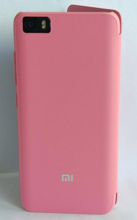 Mi5 műbőr fliptok - rózsaszín