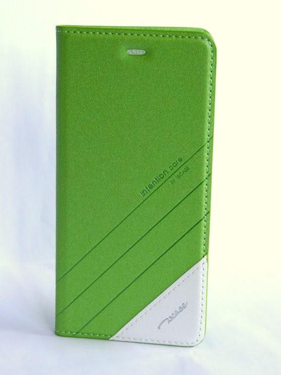 Mi5 műbőr fliptok - zöld