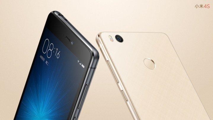 Mi 4S okostelefon - arany