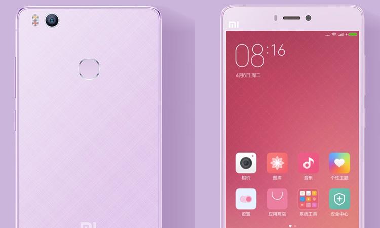 Mi 4S okostelefon - lila