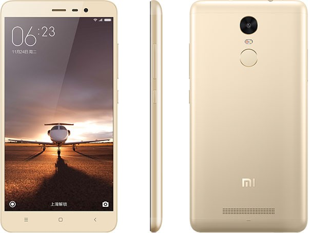 Redmi Note 3 Pro (Snapdragon) okostelefon - 4G, 3+32GB, arany