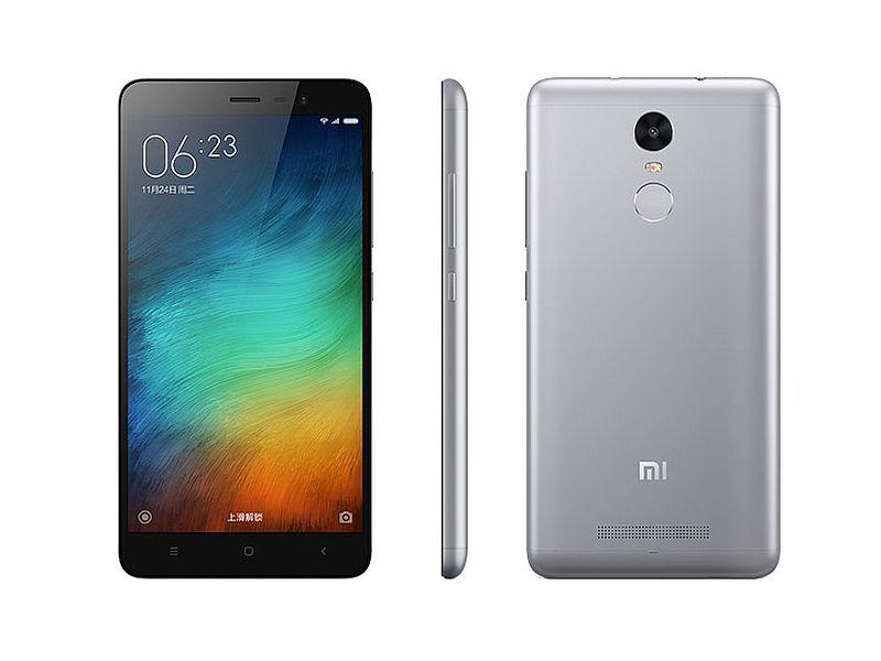 Redmi Note 3 Pro (Snapdragon) okostelefon - 4G, 3+32GB, szürke