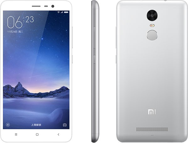 Redmi Note 3 Pro (Snapdragon) okostelefon - 4G, 3+32GB, fehér