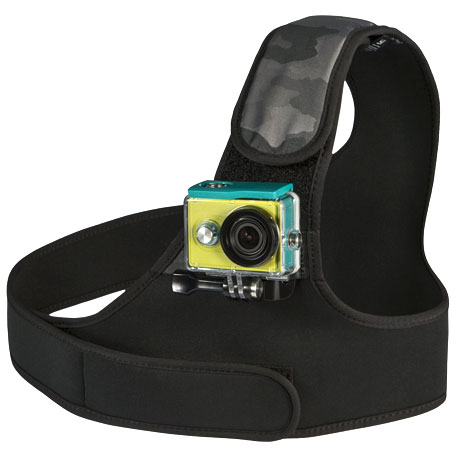 Yi Camera rögzítő neoprén mellheveder - fekete