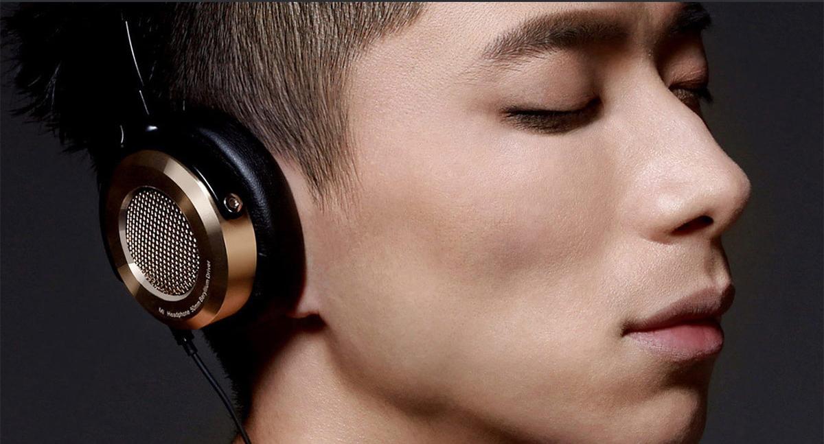 Mi Hi-Fi fejhallgató - fekete-arany