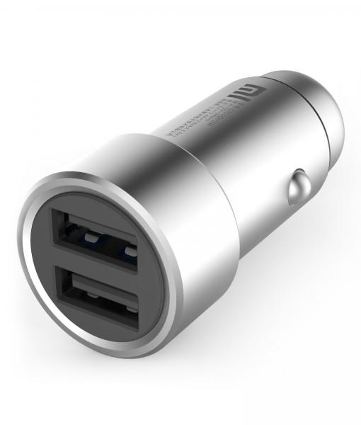 Mi USB autóstöltő - ezüst