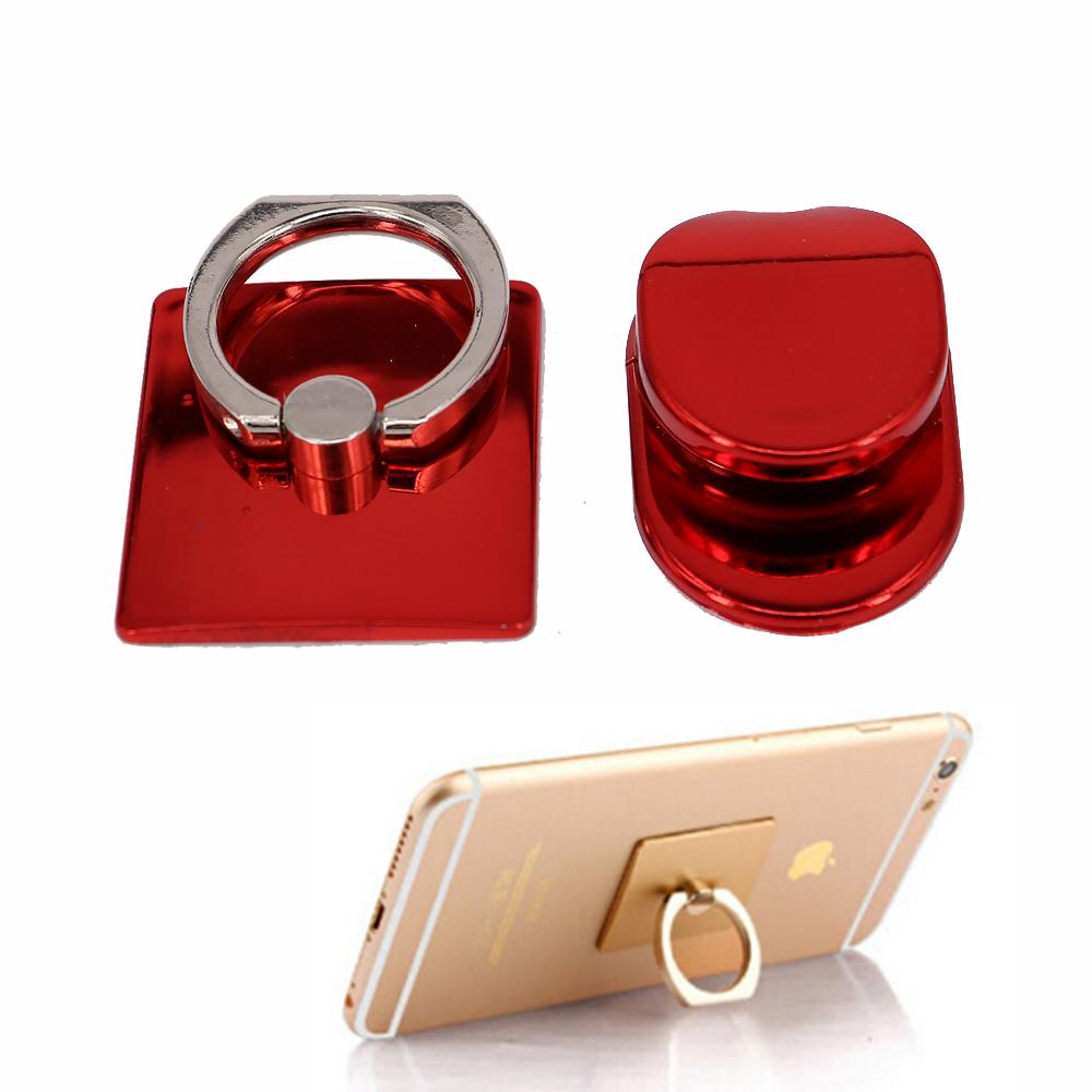 Mi telefontartó karikás - piros