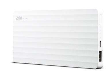 Power Bank 10000mAh ZMI külső akkumulátor - fehér