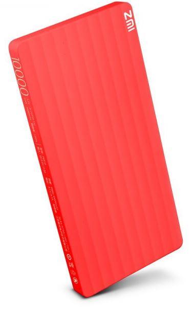 Baterie externă Xiaomi Powerbank 10000mAh ZIMI - Roșu