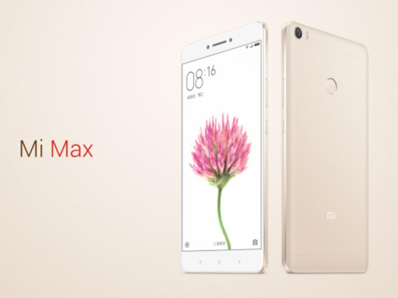 Mi Max okostelefon - 3+32GB, arany