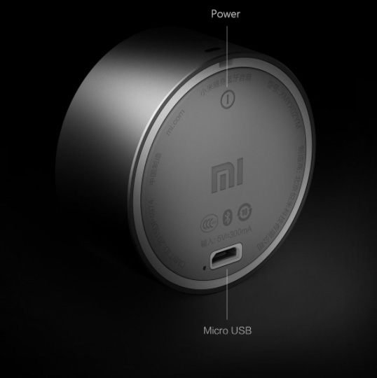 Boxe Xiaomi Little Audio Speaker - Cenușie