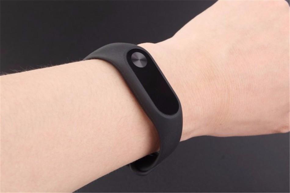 Mi Band 2 fitness karkötő - fekete