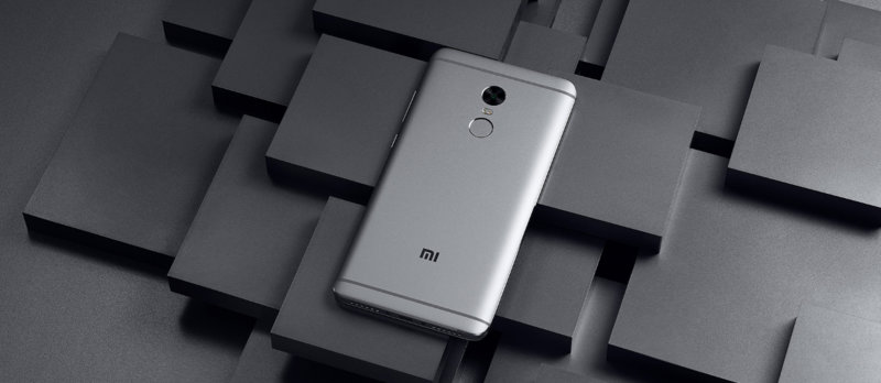 Redmi Note 4 MTK okostelefon - 3+64GB, ezüst