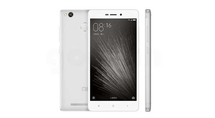Redmi 3X okostelefon - ezüst