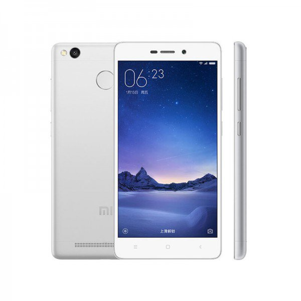 Redmi 3S okostelefon - 2+16GB, ezüst