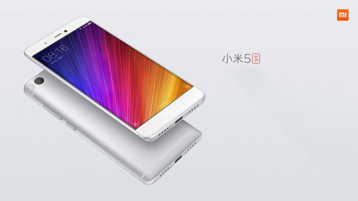 Mi 5S okostelefon - 3+64GB, ezüst