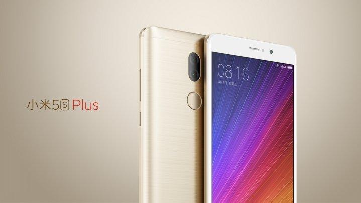 Mi 5S Plus okostelefon - 6+128GB, arany