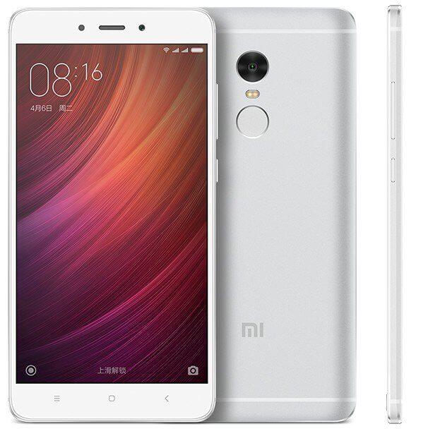 Redmi Note 4 MTK okostelefon - 3+32GB, ezüst
