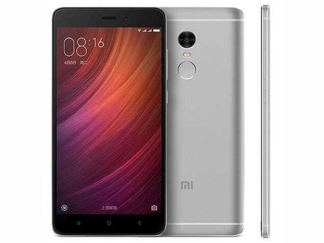 Redmi Note 4 MTK okostelefon - 3+32GB, szürke