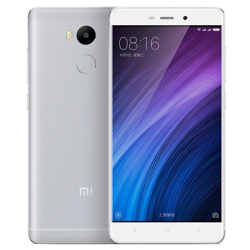 Redmi 4 okostelefon - 2+16GB, ezüst