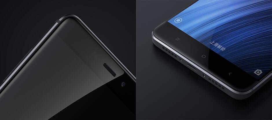Redmi 4 okostelefon - 2+16GB, szürke