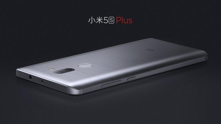 Mi 5S Plus okostelefon - 4+64GB, sötétszürke