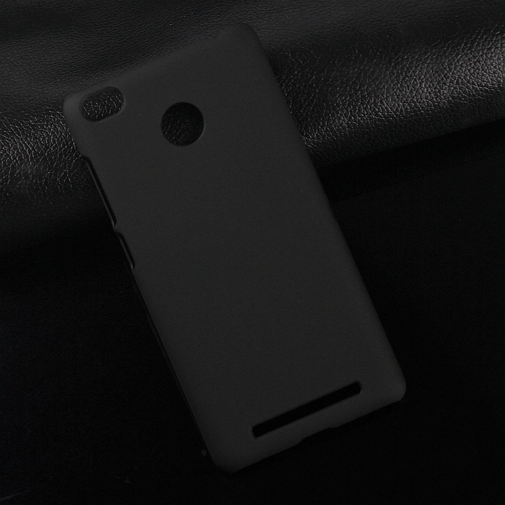 Redmi 3S gumirozott tok - fekete